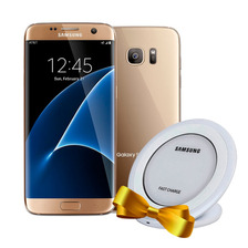 Celular Samsung Galaxy S7 Edge 32gb 4g Gold + Wireless