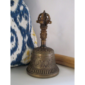 Campana Tibetana Mediana Con Envio Incluido - Remate