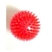 Brinquedo De Cachorro Bola Espinho Com Som Vermelha Grande