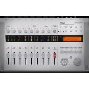 Zoom R16 - Interface E Gravador