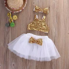 Hermoso Vestido Fiesta Bebé Niña Piñata Un Año