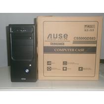 Case Ause Atx Con Fuente De Poder De 500w