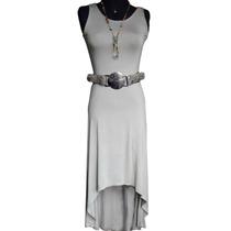 Vestido Maxi Cola De Pato Oferta (moda Mujer Elegante Largo)