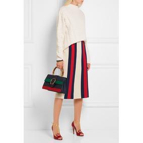 b6166bf364061 Mini Saia Gucci Em Chamois!!!!!! - Calçados, Roupas e Bolsas no ...