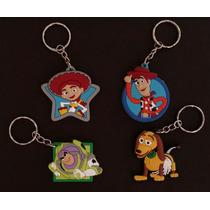 Bonito Set Llaveros Toy Story Woody Buzz Jessie Slinky