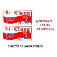 Li Chang X 12 Capsulas - Vigorizante Masculino.