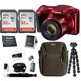 Cámara Digital Canon Powershot Sx420 Is ( Rojo ) W Dos Tarj