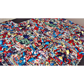 Remera Marvel & Dc Heroes - Nueva(talle M)