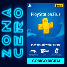 Tarjetas Playstation Plus3 Meses Suscripción Psn Online