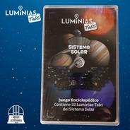 Sistema Solar - Planetas Y Lunas - Juego De Cartas Gigantes