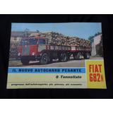 Folleto Fiat 682n 682 Camion No Manual 1949 1950 Antiguo