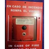 Estación Manual Para Central Contra Incendio Con Plug Grande