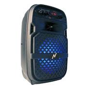 Parlante Bluetooth Inalambrico Luz Led Rgb 75w Radio Fm