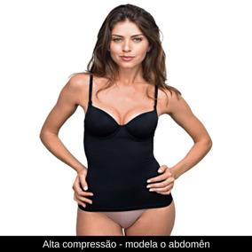 Blusa Feminina Bojo Modela O Corpo Alta Compressão Demillus