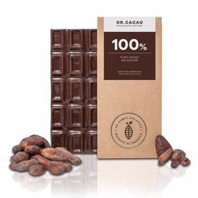 Chocolate 100% Cacao Sin Azúcar 70g Dr Cacao The Food Market