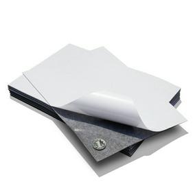 Hojas De Imán Flexible Con Pegamento Tamaño A4 De 0.4mm