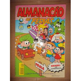 Almanacao De Ferias 27 Turma Da Monica Com Brinde Excelente
