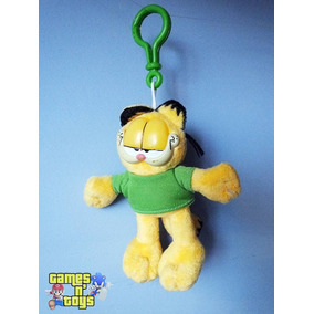 Chaveiro Boneco Gato Garfield De Pelúcia Tenho Mc Donalds
