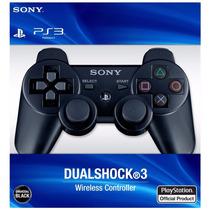 Controle Ps3 Sem Fio Dualshock 3 Botão Reset Barato