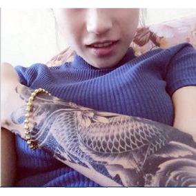 Frete 7 Reais Tatuagem Temporária Carpa Oriental Nº 6