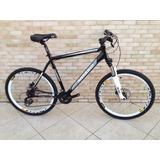 Bicicleta Mosso Galaxy Preta Tam 20 Shimano Suntour Nova
