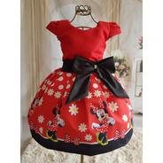 Vestido Minie Vermelha Temático