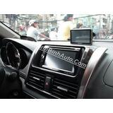 Consola Adaptadora Radio Toyota Yaris 2013 2018