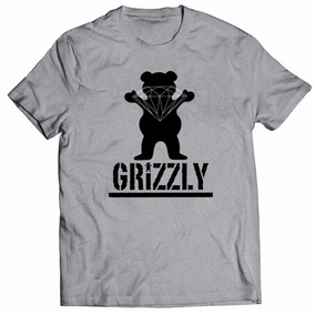 Camisa Camiseta Grizzly Diamond Skate Swag Rap