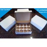 Cajas Para 12 Cupcakes ( X 20 Unidades A $12.50 C/u)