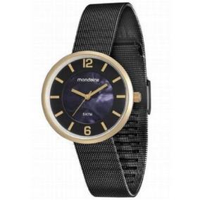 7390b519820 Relogio Feminino Black Mondaine Azul - Relógios no Mercado Livre Brasil