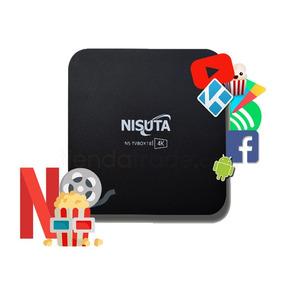 Tv Box Android Convertidor Smart Tv 4k Wifi 1gb Ns-tvbox18