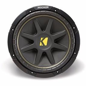 Subwoofer Kicker Comp12 Bobina Simples 4 Ohms 150w Rms