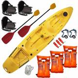 Kayak Rocker Warrior 3 Pers. C5 Local Palermo Envio Gratis