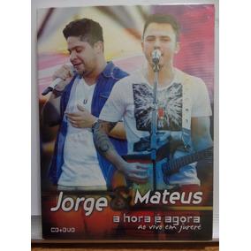Dvd + Cd Jorge E Mateus A Hora E Agora Ao Vivo Jurerê Novo