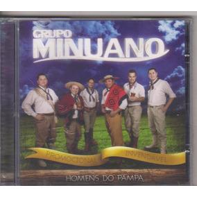 Cd Grupo Minuano Homens Do Pampa, Lacrado, Gaúcho, Original