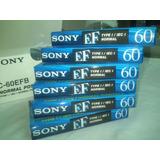 Cassettes Virgen × Caja Sony Ef De 60