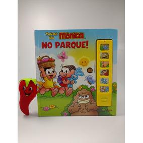 Livro Turma Da Mônica No Parque Com Som (loja Do Zé)