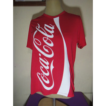 Coca Cola Playera Manga Corta Dama Hot Topic Doe Importada