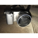 Camera Fotográfica Sony Mirrorless Nex 5t/case/2 Bat/flash