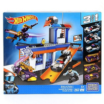 Set Break-out Station Hot Wheels Mega Bloks 3 En 1 Colección