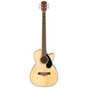 Baixolão Baixo Eletro Acústico Fender Cb60 Sce Natural 4 !