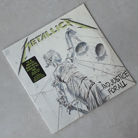 Vinil Lp Metallica And Justice For All 2-lps Lacrado