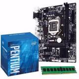 Combo Actualización Intel Pentium G4560 + Asus H110 + 4gb