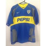 Camiseta De Boca Juniors 2003 Doble Tela L Nueva Musculosa