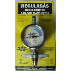 Regulador De Gás Glp Com Manometro