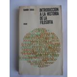 Libro Introduccion A La Historia De La Filosofia 13 X21 Cm