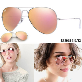 lentes ray ban espejados mujer