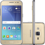 Smartphone Samsung Galaxy J2 Duos Dual Chip Android 5.1 8gb