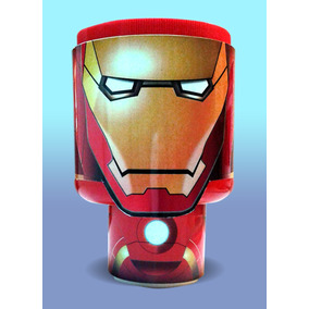 Dulcero Avengers Iron Man Alcancia Fiesta Centro De Mesa