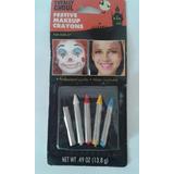 Kit De Lapices Maquillaje Para Mimo Payaso Disfraces